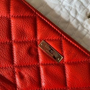 Kate Spade red quilted bag